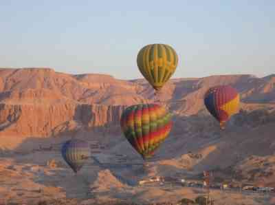 Luxor Balloon Ride Over Valley of The Kings