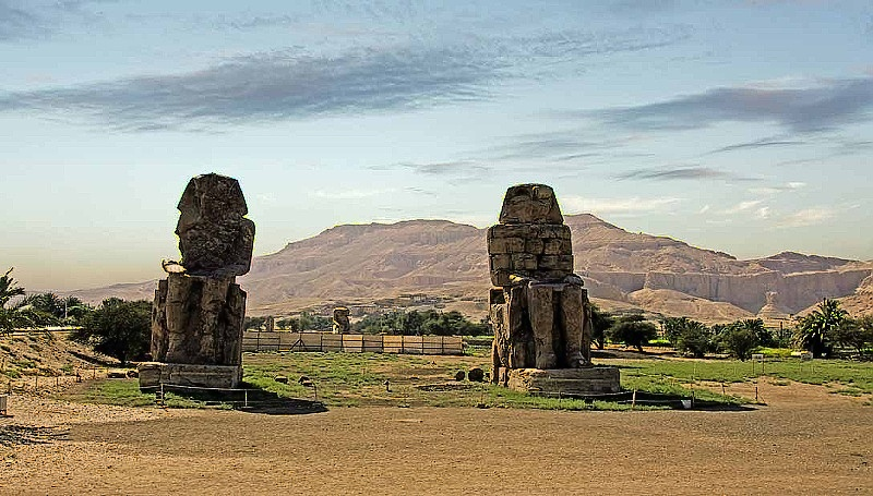 Colossi of Memnon Luxor 1