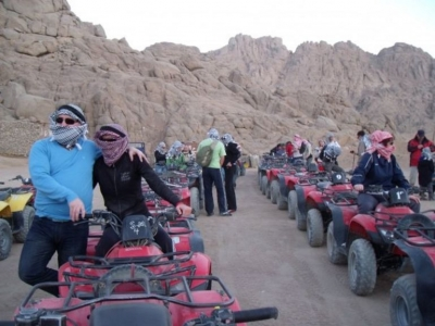 Quad Safari Tours from Taba