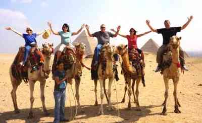 Pyramids of Giza Camel ride