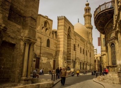 El Moez Street and Al Azhar Park Tours