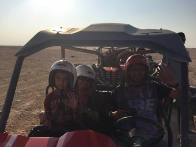 Sunset Car Buggy Safari in Hurghada